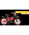 BICICLETA MONARK ARO20 BMX PRETO/VERMELHO